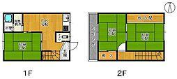大木アパート[6号室]の間取り