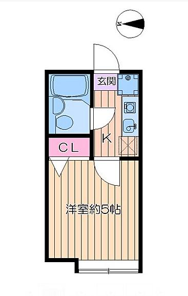プチクレール北綾瀬C[2階]の間取り