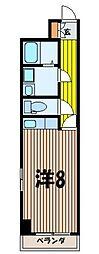 第一神谷ビル[4階]の間取り