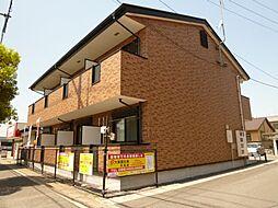 岡山県倉敷市北畝2丁目の賃貸アパートの外観