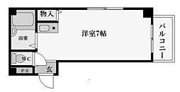 ビクトワールシェル[3階]の間取り