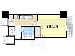 ファーストステージ江坂広芝町2 9階1Kの間取り
