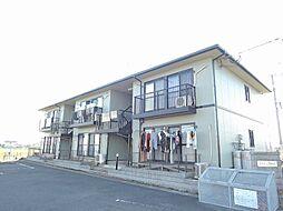 福岡県行橋市大字上検地の賃貸アパートの外観