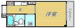ライオンズマンション中野第五[1階]の間取り