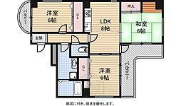 デルフィ21[2階]の間取り