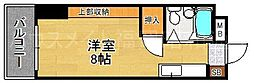 福岡県福岡市博多区須崎町の賃貸マンションの間取り