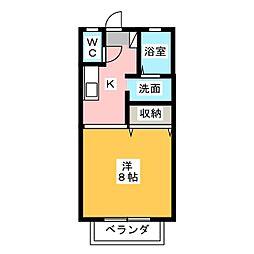 ダイワロイヤルガーデンI・II[2階]の間取り