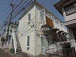神奈川県伊勢原市桜台1丁目の賃貸アパートの外観