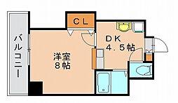 ドリームベイサイドII[6階]の間取り