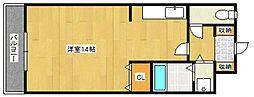 アザレアハイツ葉山[3階]の間取り