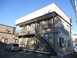 北海道札幌市東区北十六条東12丁目の賃貸アパートの外観