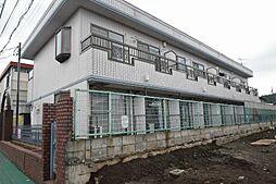 神奈川県秦野市曽屋の賃貸アパートの外観