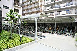 共用部 駐輪場・バイク置場。2019.5月