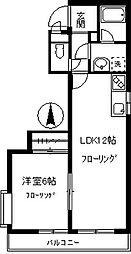 ガーデン・マキ[102号室]の間取り