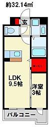 [タウンハウス] 福岡県行橋市中央2丁目 の賃貸【福岡県 / 行橋市】の間取り