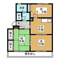 セント・ポーリア[1階]の間取り