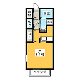 アーク・エム[3階]の間取り