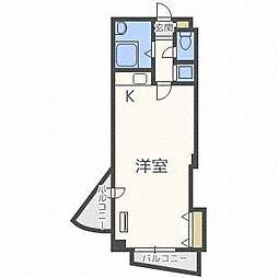 ラベニュー札幌[5階]の間取り