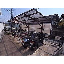 奈良県生駒市桜ケ丘の賃貸マンションの外観