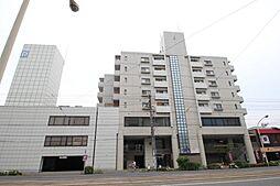広島県広島市中区西川口町の賃貸マンションの外観