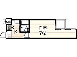 第7片山ビル[9階]の間取り