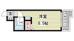 杉本マンション[201号室]の間取り