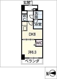 MEIBOU TESERA[4階]の間取り