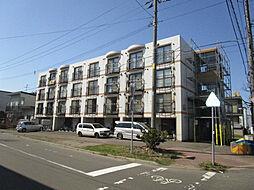 北海道札幌市東区北二十一条東6丁目の賃貸マンションの外観