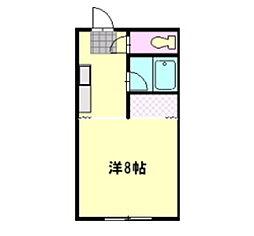 ハイツ中沢[202号室]の間取り