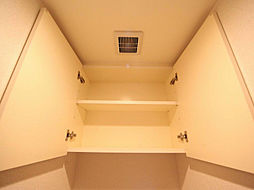エコロジー栄レジデンスのトイレ 棚付
