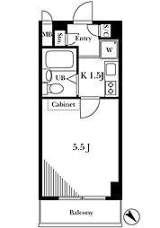 Jcity渋谷[2階]の間取り