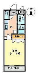 アンセスター兵庫北[102号室]の間取り