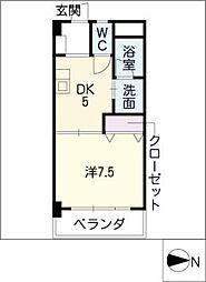 サンシャイン伊藤[3階]の間取り