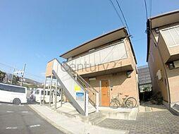 大阪府箕面市桜井2の賃貸アパートの外観