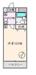 フォーサイト大塚[303号室]の間取り