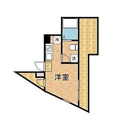 東京都練馬区羽沢2丁目の賃貸マンションの間取り
