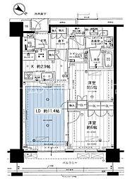 Brillia THE TOWER TOKYO YAESU AVENUE[6階]の間取り
