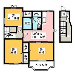 Y.S.C.2001[2階]の間取り