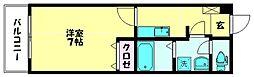 ラ・エトワール[102号室]の間取り
