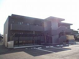 岡山県総社市真壁の賃貸アパートの外観