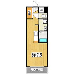 フォレスト27[1階]の間取り