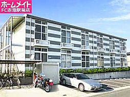 愛知県日進市香久山1丁目の賃貸アパートの外観