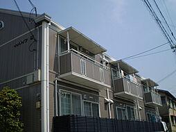 大阪府豊中市桜の町3丁目の賃貸アパートの外観