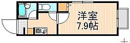 押上プラザマンション[4階]の間取り