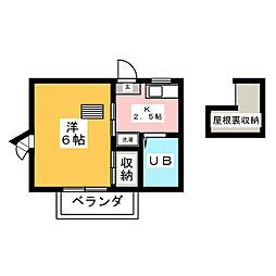 踊場駅 4.8万円