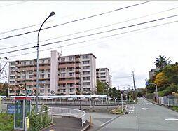箕面粟生第4団地1号棟[5階]の外観
