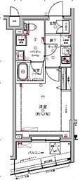 RELUXIA板橋区役所前(リルシア板橋区役所前)[2階]の間取り