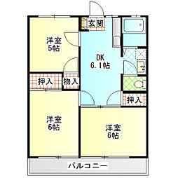 第3湘南マンション[301号室]の間取り