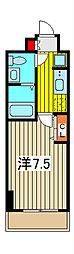 アトラスカーロ浦和常盤弐番館[5階]の間取り