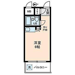 ソアール新桜台[3階]の間取り